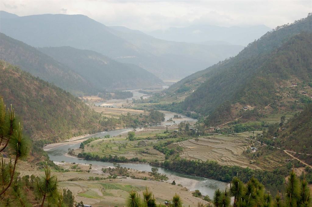 Punakha Valley, Bhutan