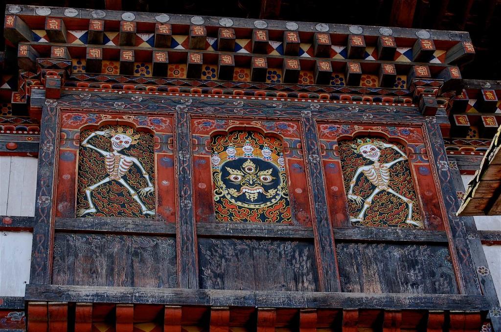Punakha Dzong Detail, Bhutan
