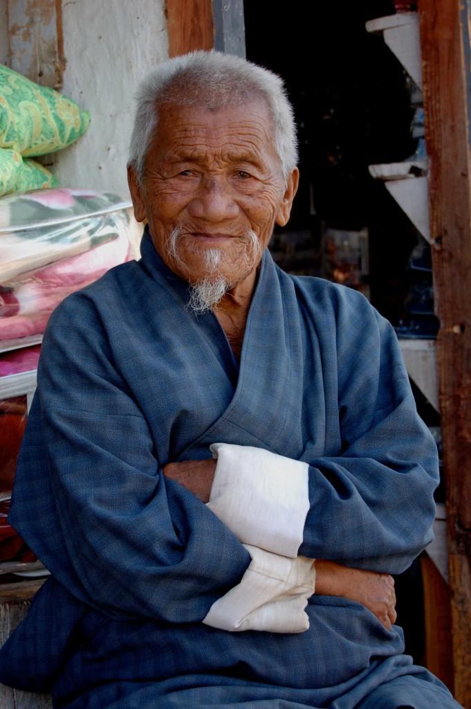 Shopkeeper, Punakha, Bhutan