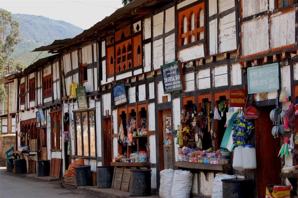 Punakha Street, Bhutan
