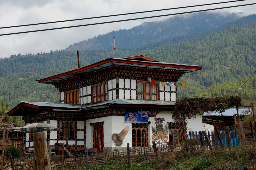 Thimphu Valley, Bhutan