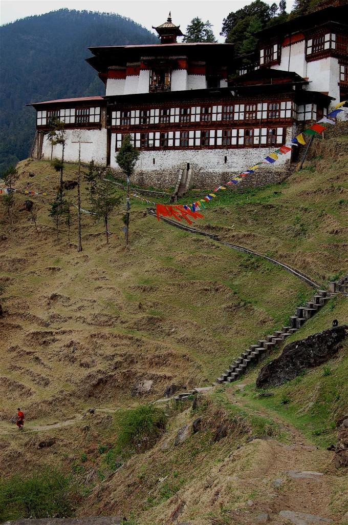 Monastery nr Thimphu, Bhutan