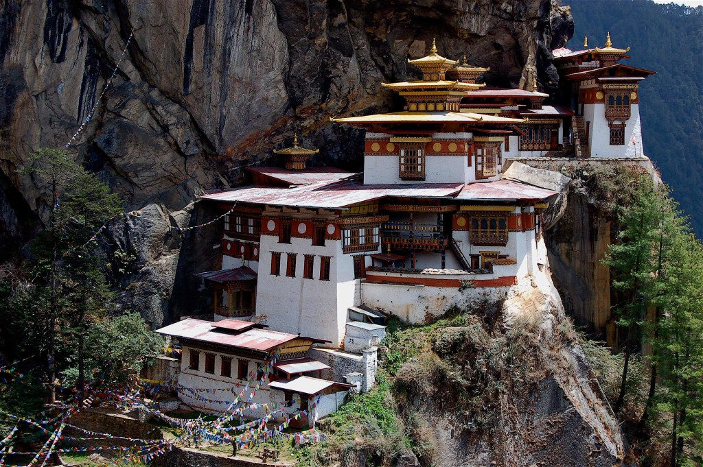 Tigers Nest Monastery, Paro Valley, Bhutan