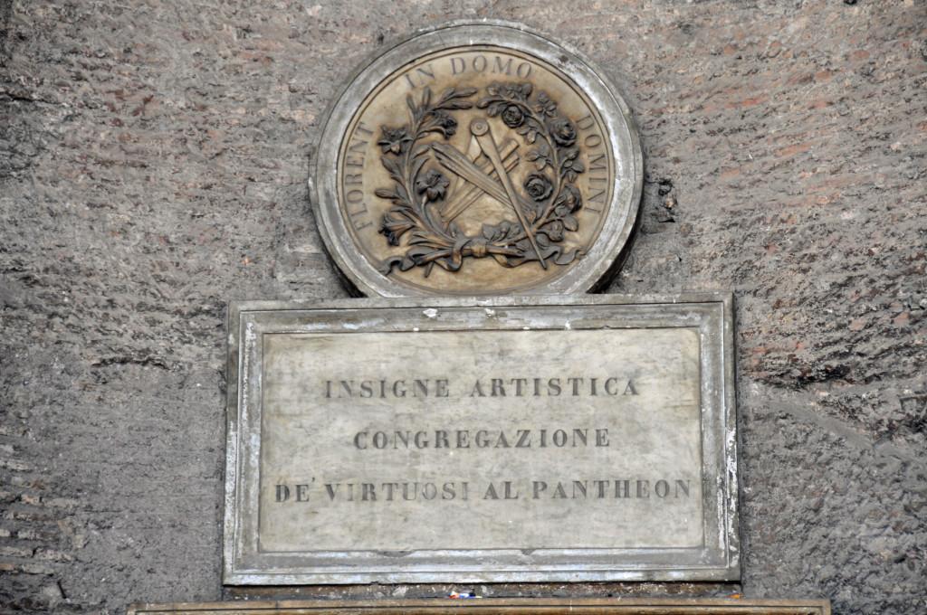 Rome Pantheon Detail