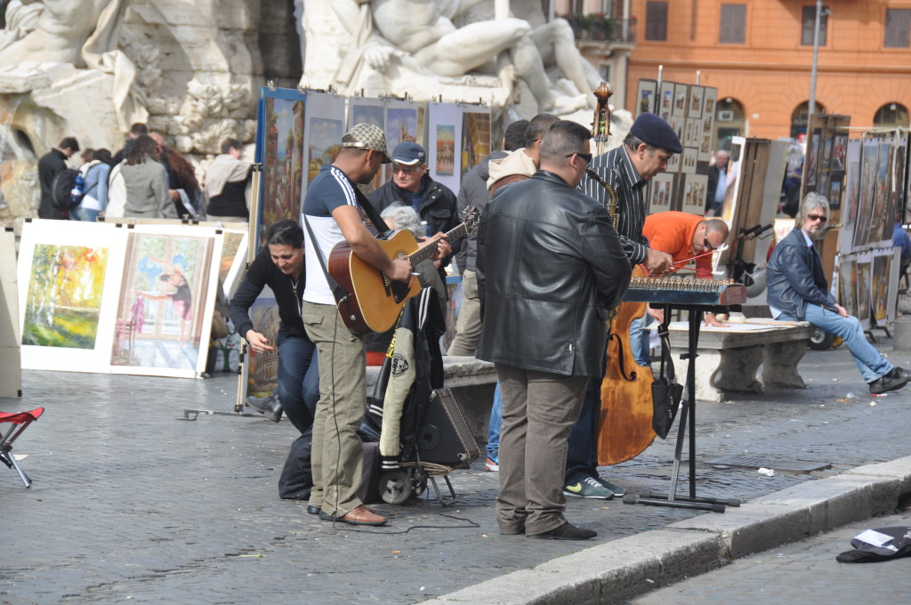 Rome Street Performers