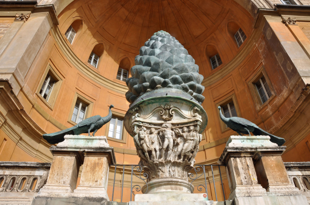 Rome Vatican Courtyard
