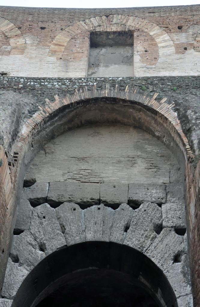 Rome Colosseum Detail