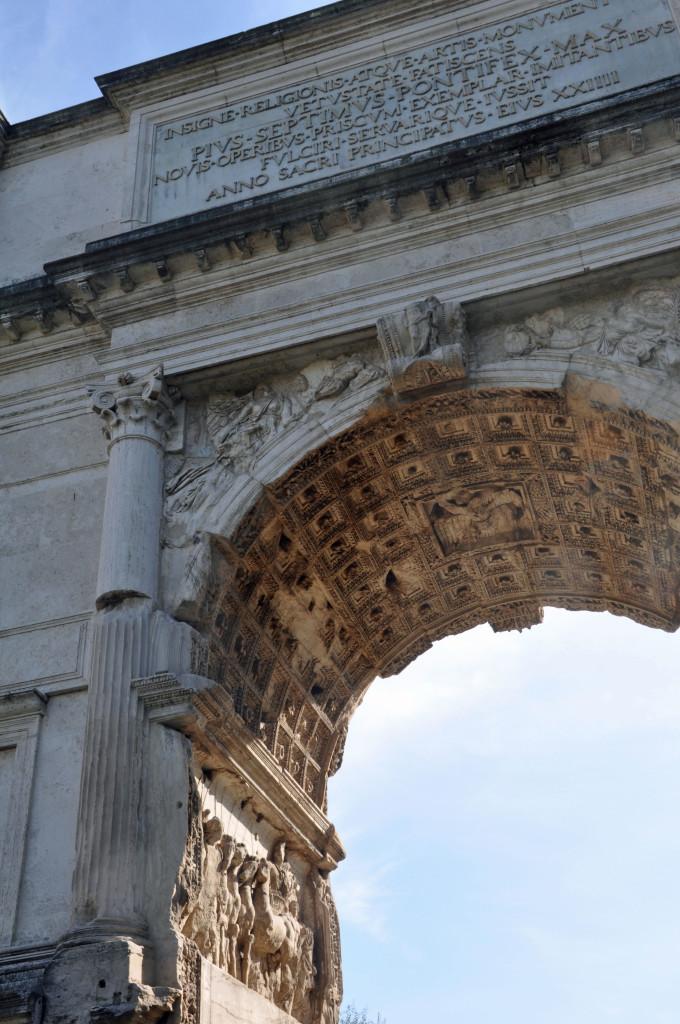 Rome Forum Titus Arch