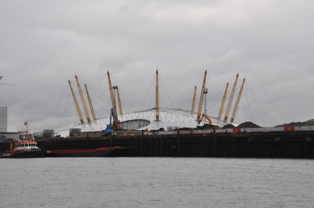 O2 Centre from the Thames