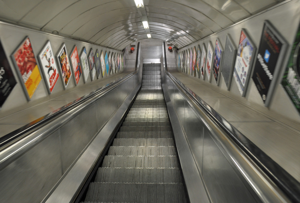 Escalator Embankment Tube