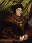 NPG 4358; Sir Thomas More after Hans Holbein the Younger