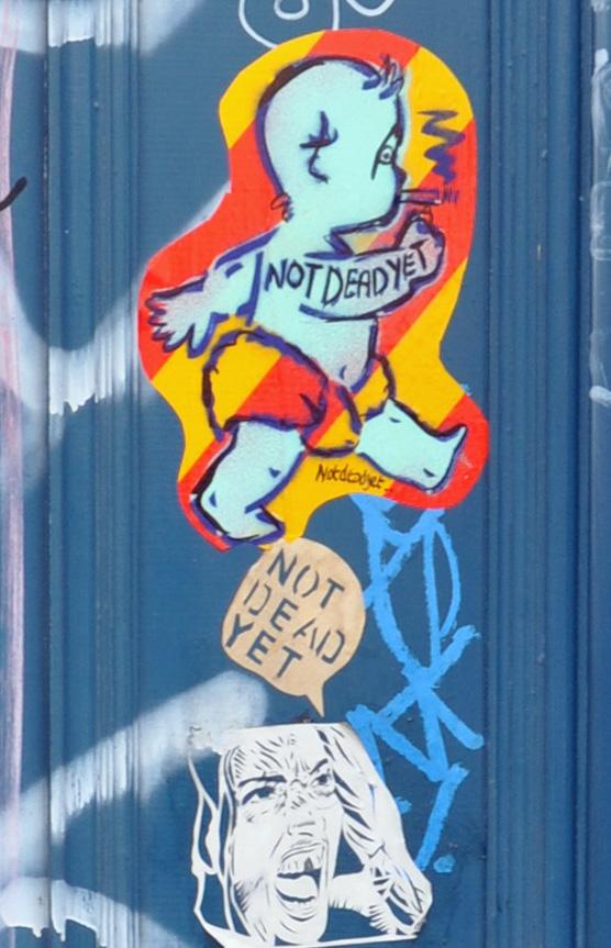Shoreditch - graffitti