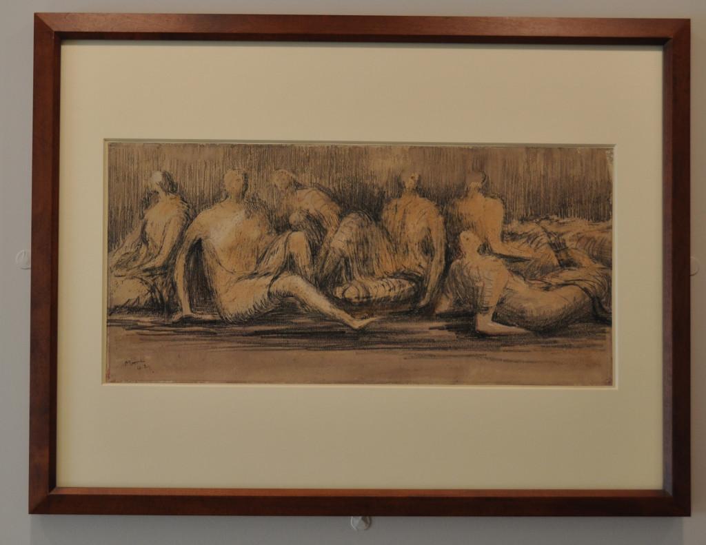 Henry Moore Sketch