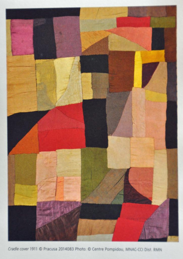 Sonia Delauney Cradle Cover 1911