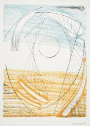 Porthmeor 1969 Dame Barbara Hepworth 1903-1975 Presented by Curwen Studio through the Institute of Contemporary Prints 1975 http://www.tate.org.uk/art/work/P06257