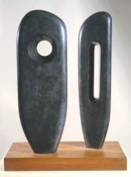 Two Figures (Menhirs) 1964 Dame Barbara Hepworth 1903-1975 Purchased 1964 http://www.tate.org.uk/art/work/T00703