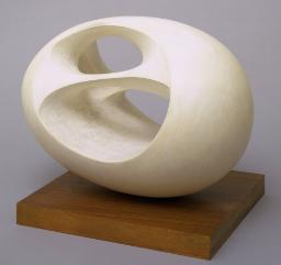 Oval Sculpture (No. 2) 1943, cast 1958 Dame Barbara Hepworth 1903-1975 Presented by the artist 1967 http://www.tate.org.uk/art/work/T00953