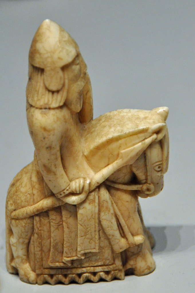 Knight, Lewis Chessmen, British Museum