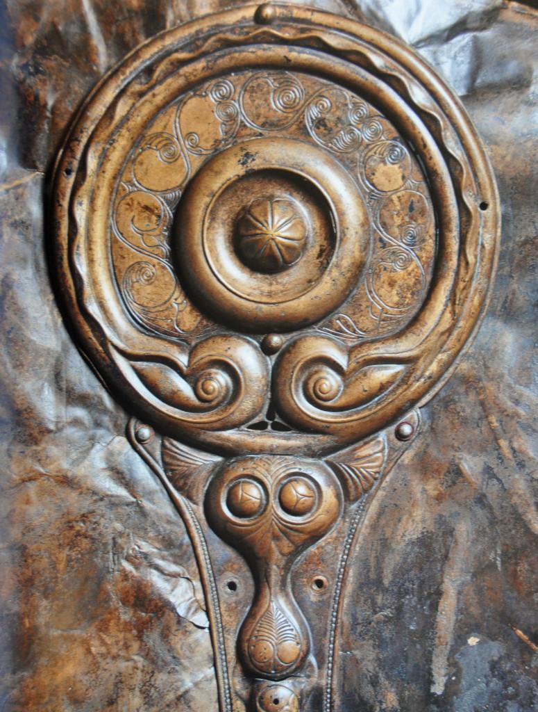 Celts,Shield Detail British Museum 2015