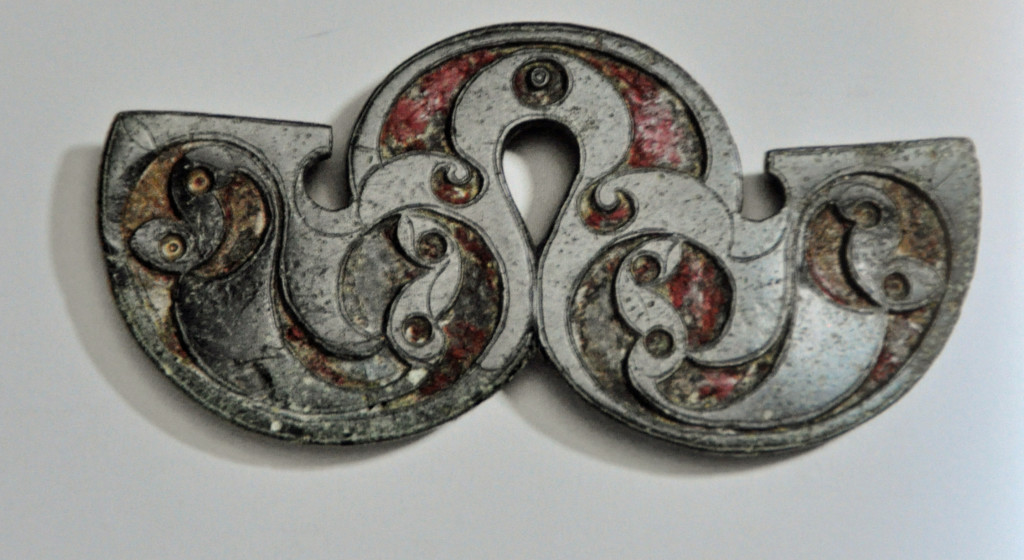 Celtic Brooch Detail, British Museum 2015