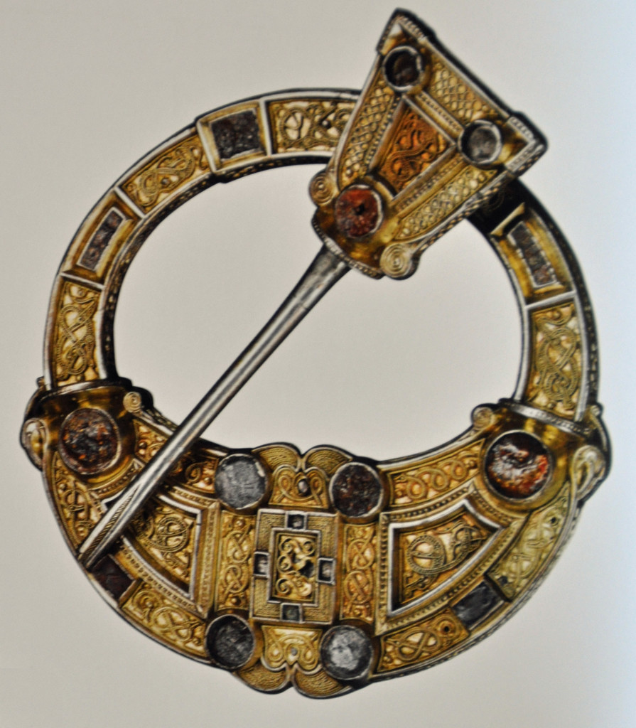 Celtic Brooch, British Museum 2015