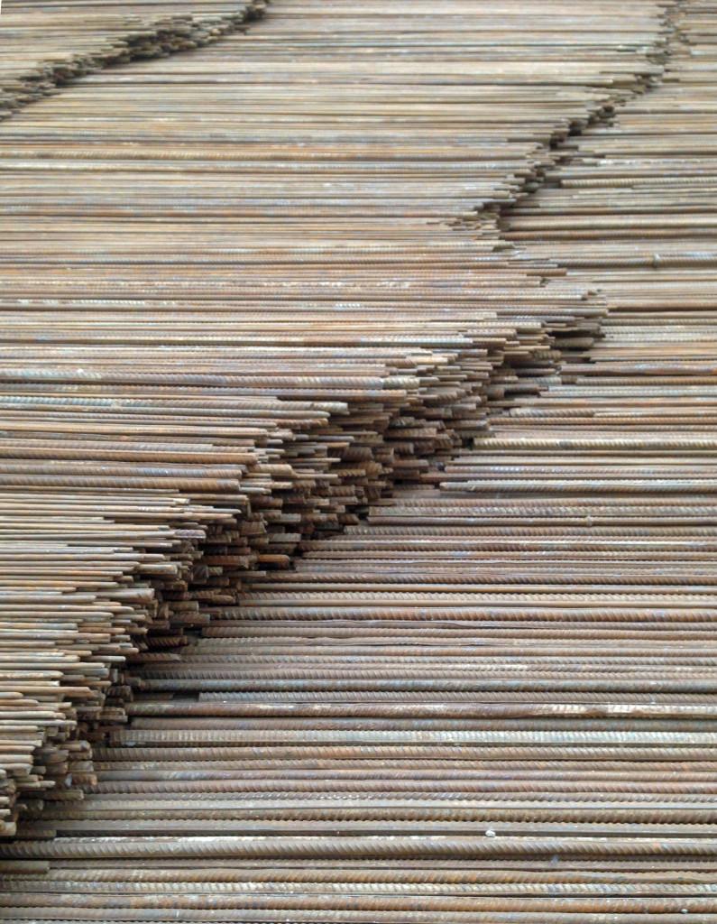 Steel Girders detail Ai WeiWei