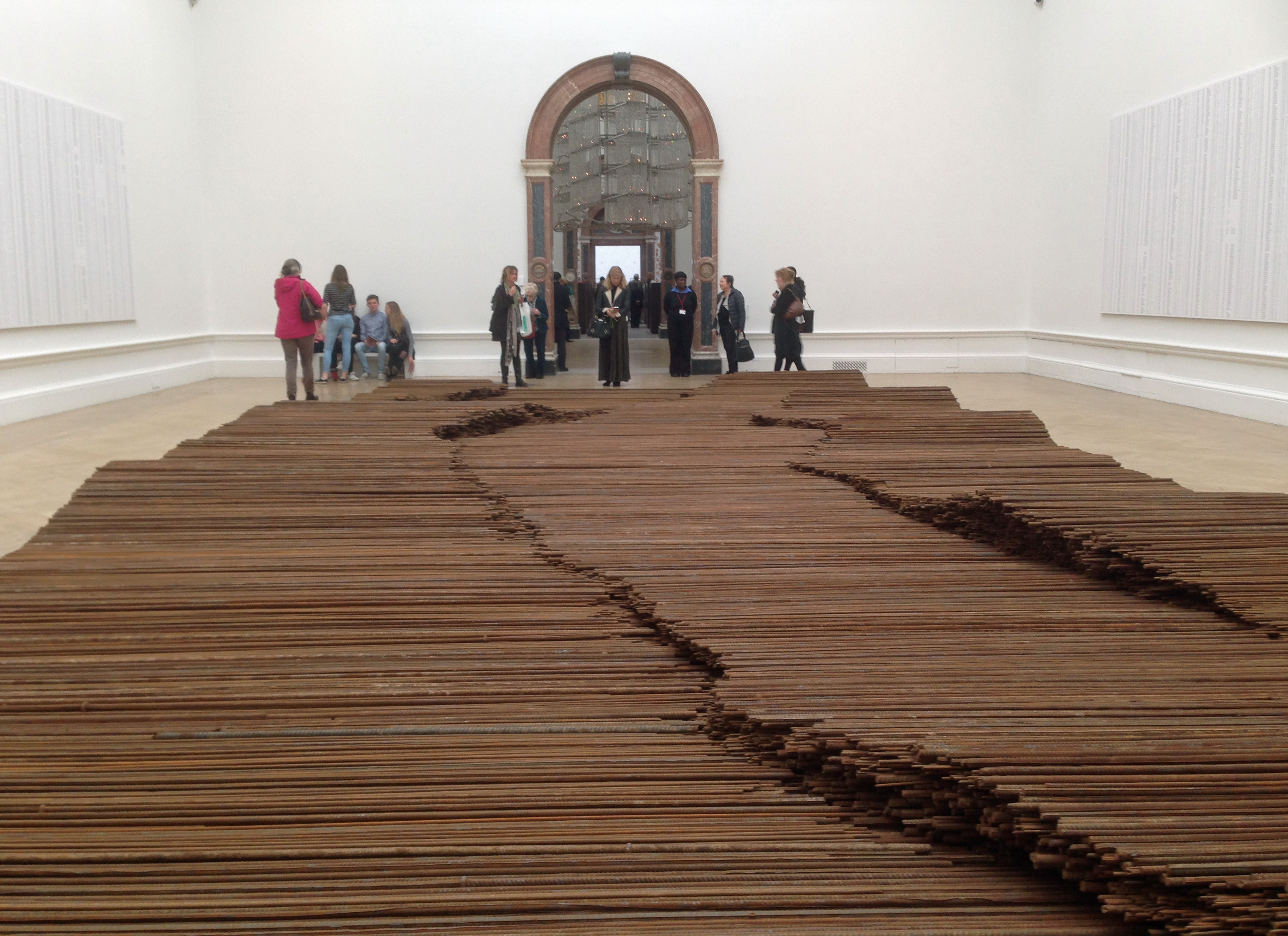 Steel Girders Ai WeiWei