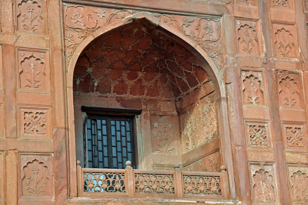 Red Fort Delhi Detail