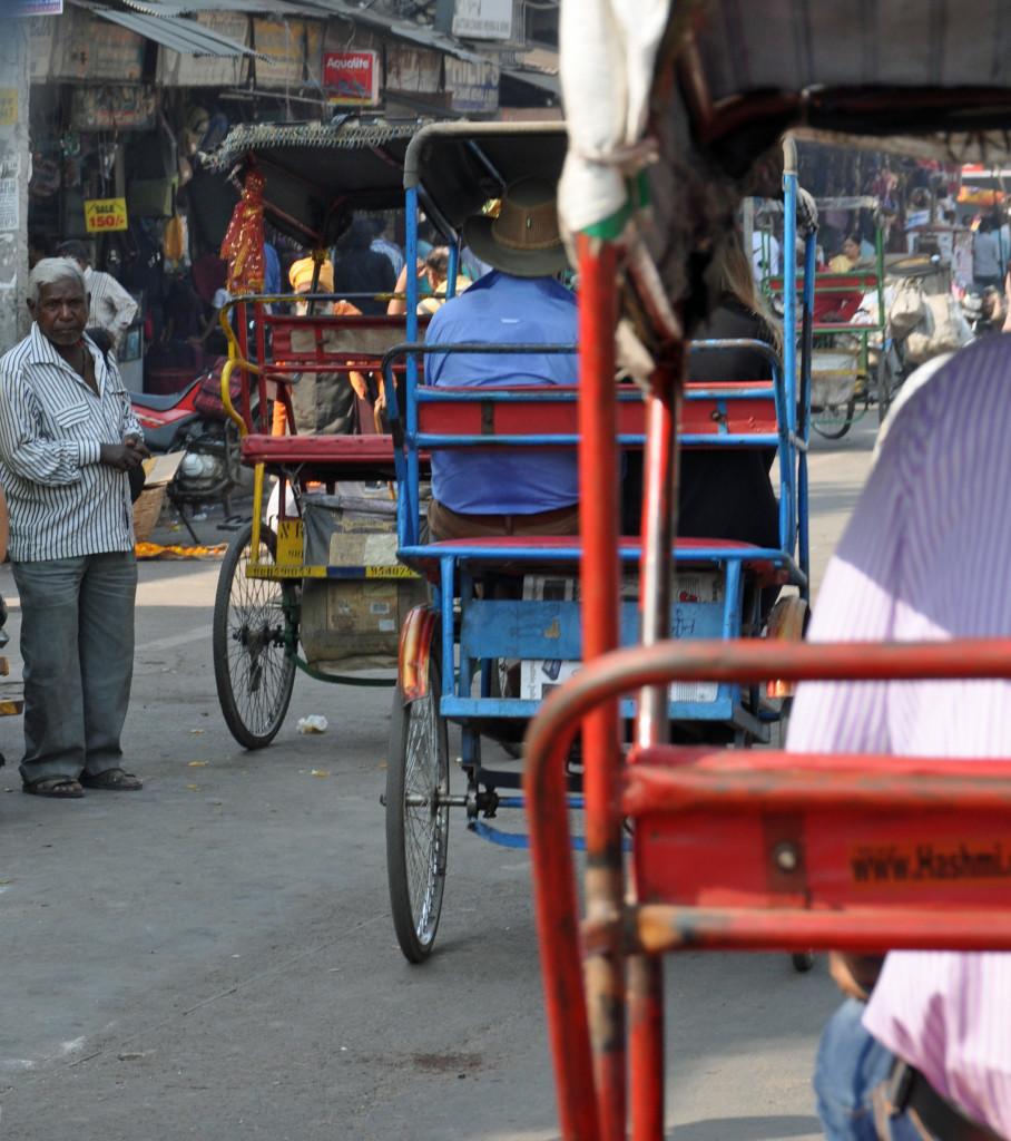 delhi Rickshaws