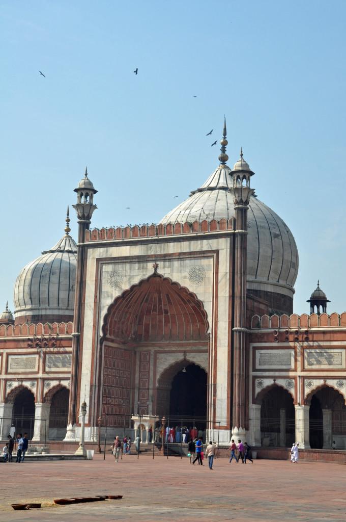 Jama Masjid detail