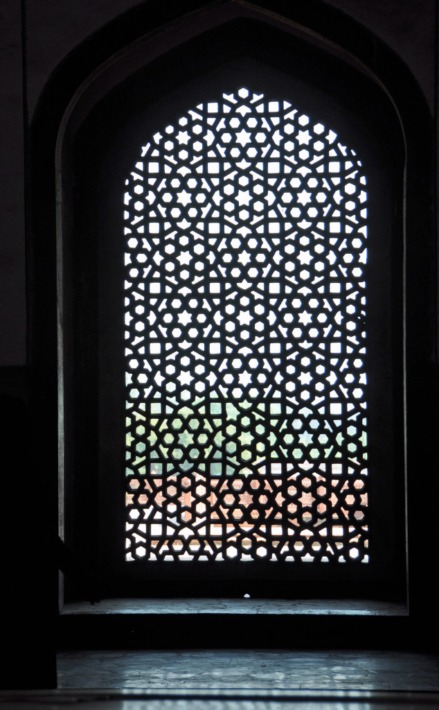 Humayan's Tomb, Window detail
