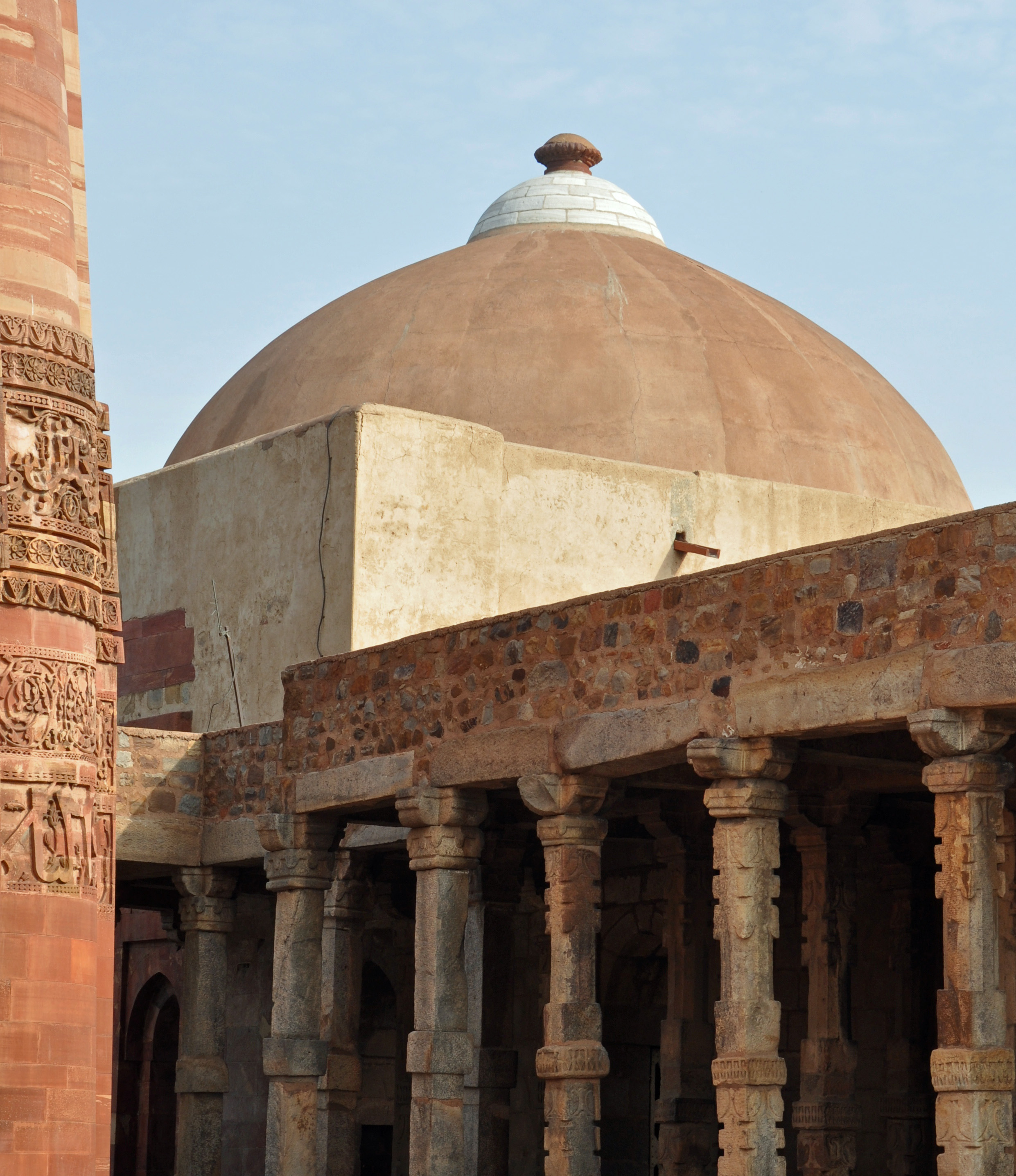 Qutub Minar surroundings