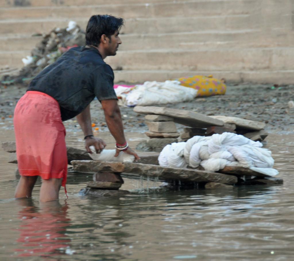 Washing, Varanasi