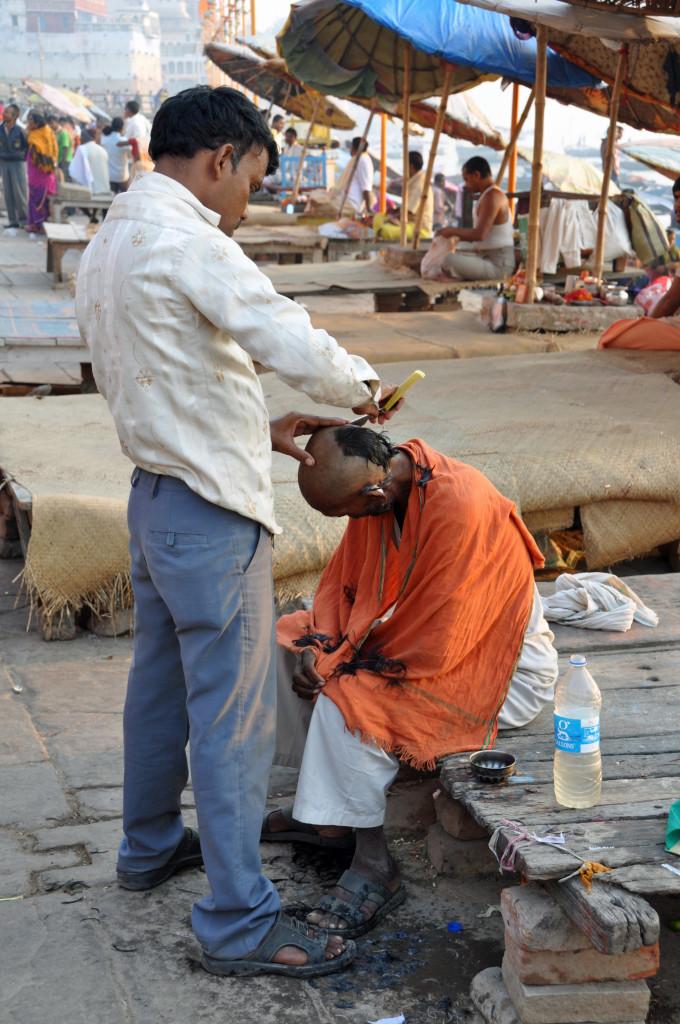Barber, Varanasi