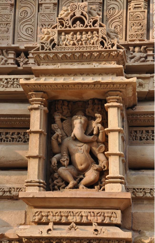 Ganesh, Lakshmana Temple, Khajuraho