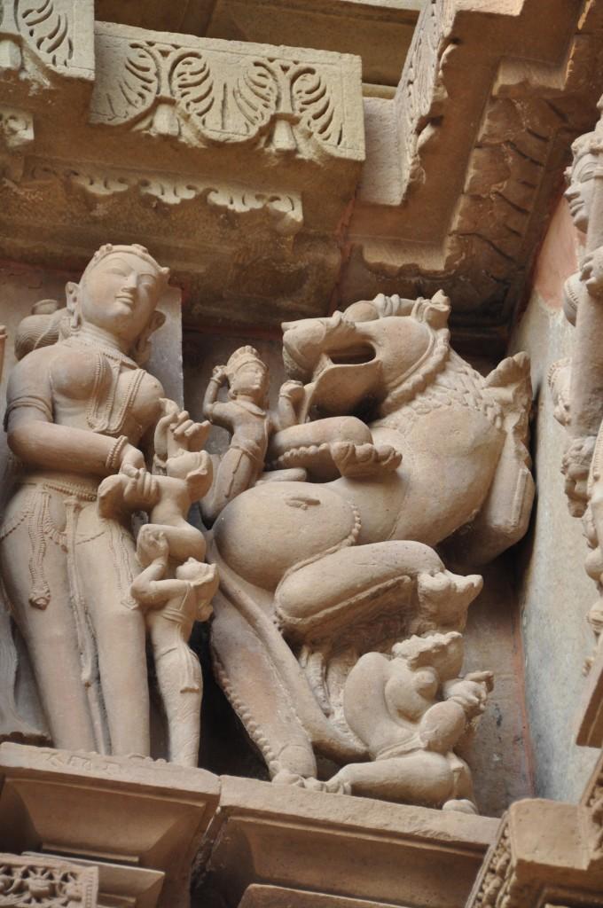 Lakshmana Temple, Mother & Child Khajuraho