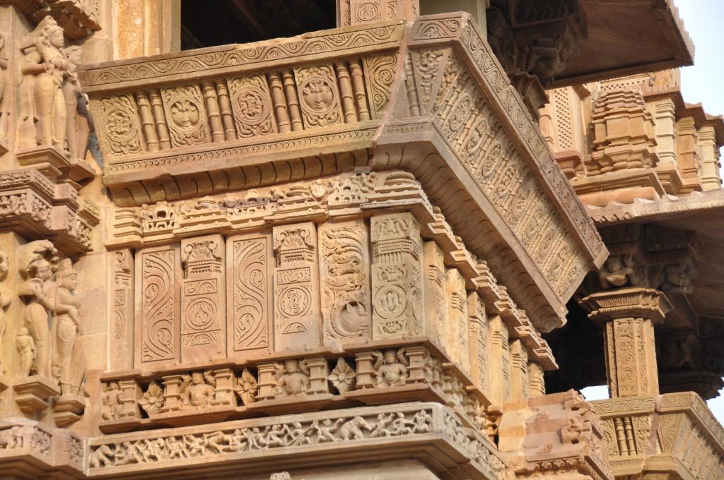 Lakshmana temple, Balcony Detail, Khajuraho