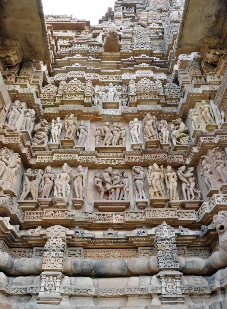 Wall Detail, Lakshmana temple, Khajuraho
