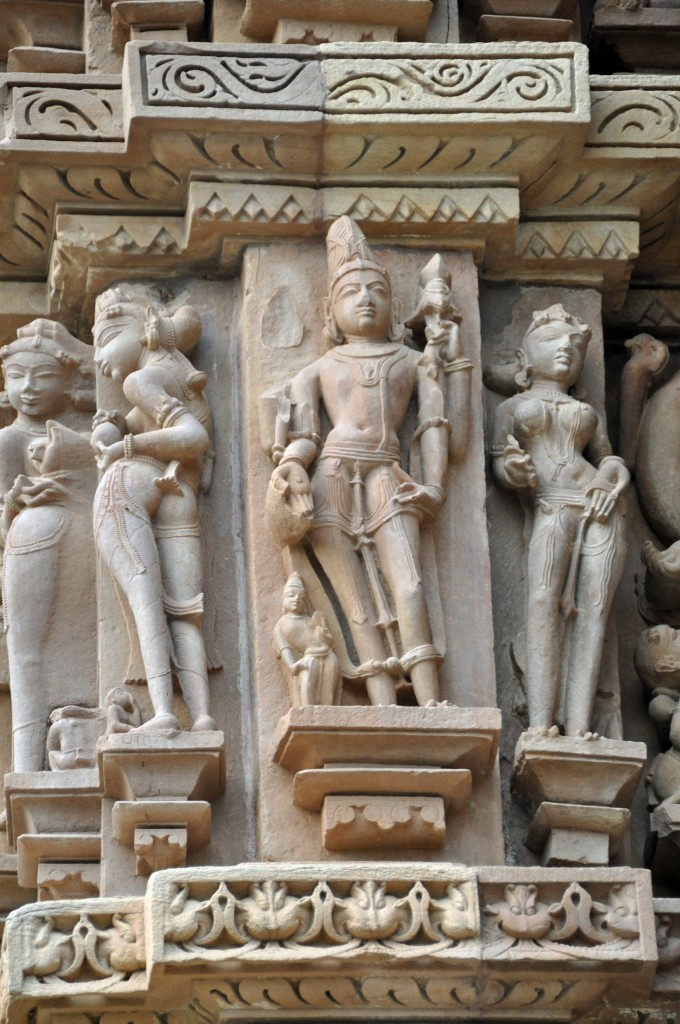Figures, no sex Devi Jagadambi Temple, Khajuraho
