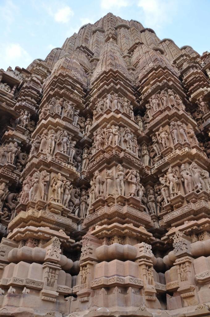 Wall Detail, Devi Jagadambi Temple, Khajuraho