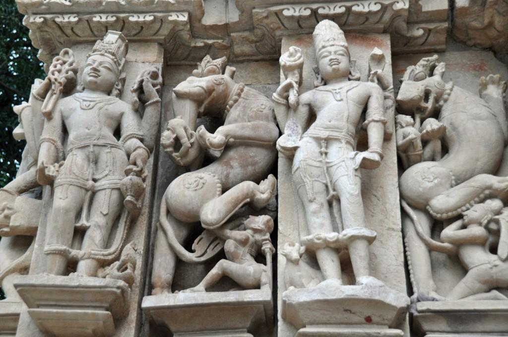 Detail, jain Temples, Khjuraho