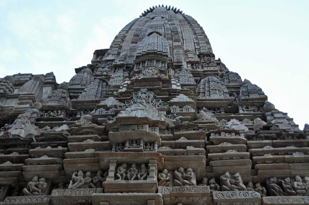 Wall detail, Eastern temple Complex, Khajuraho