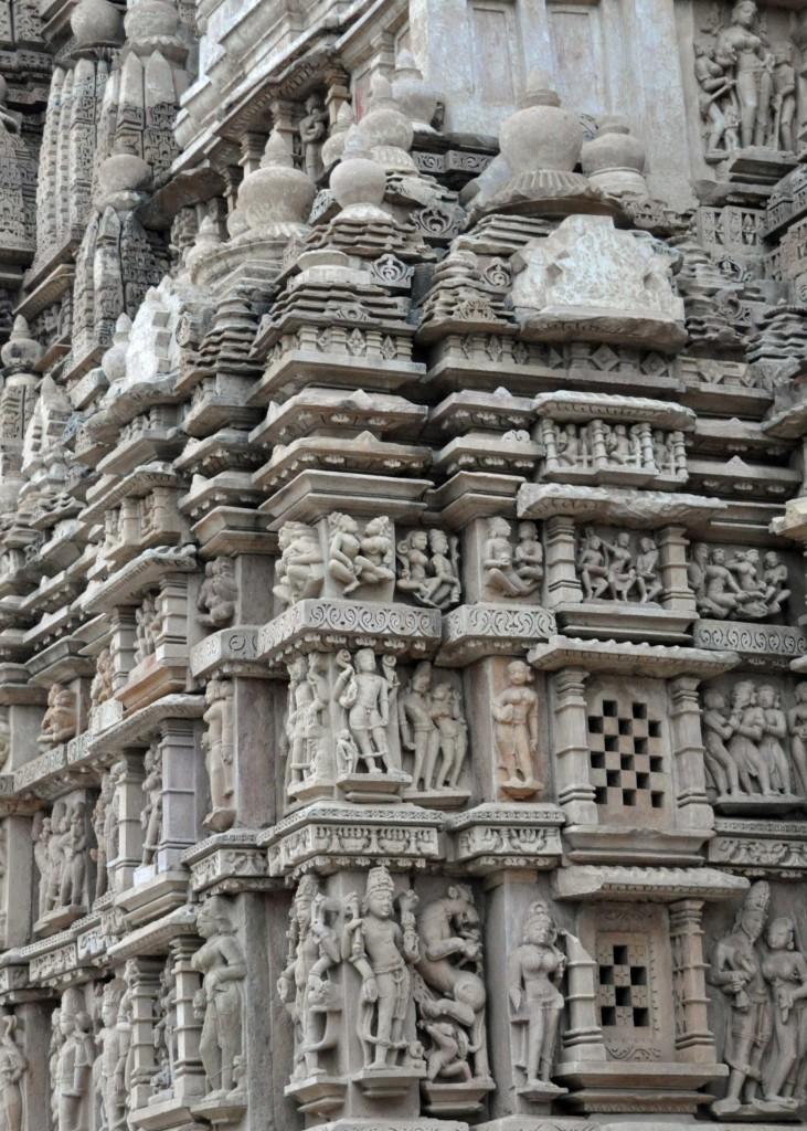Corner Detail, Eastern Temple Complex, Khajuraho