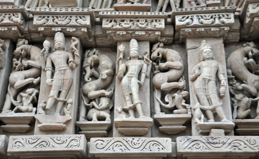 Detail, Eastern temple Complex, Khajuraho