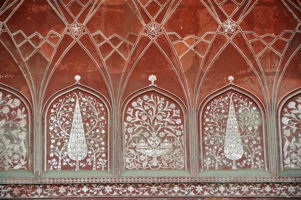 Taj Mahal Mosque Detail