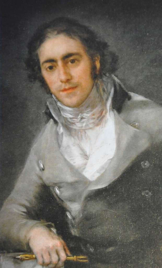 Goya 1746-1828 Portrait of an Artist