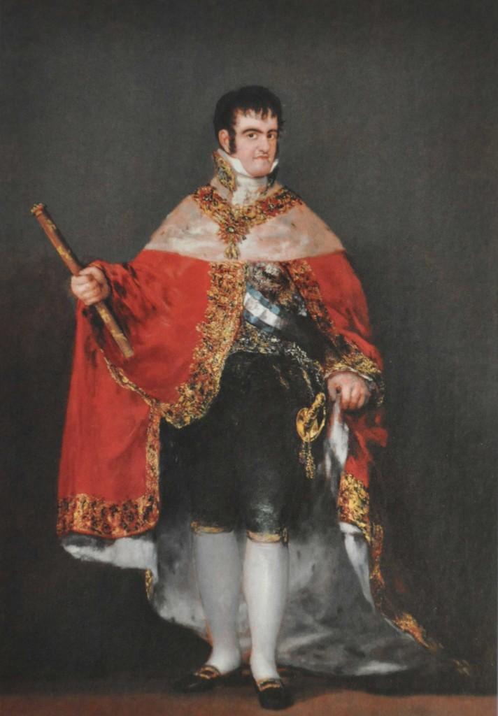 Goya; Ferdinand VII