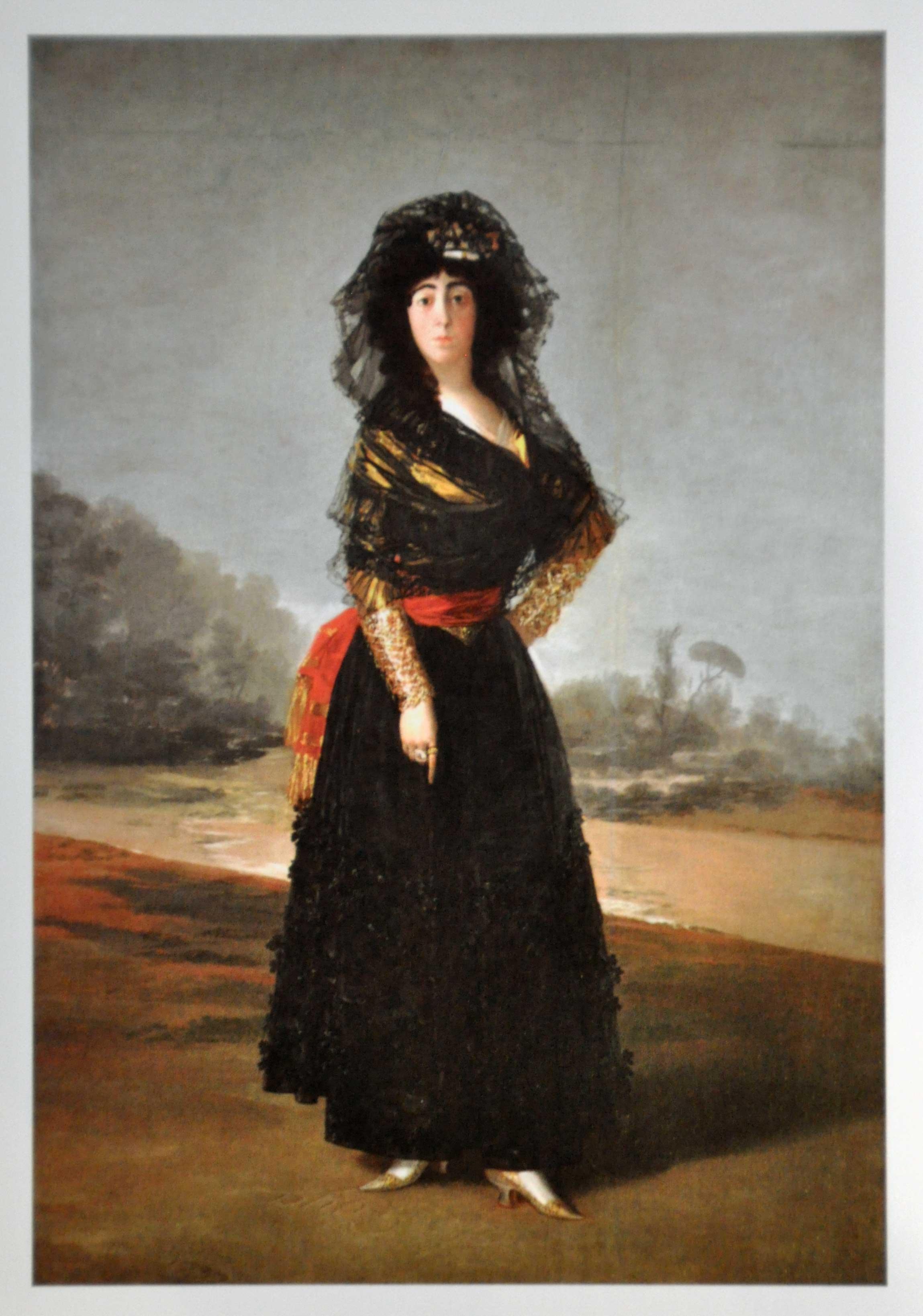 Goya: Dowager Marchioness of Villafranca