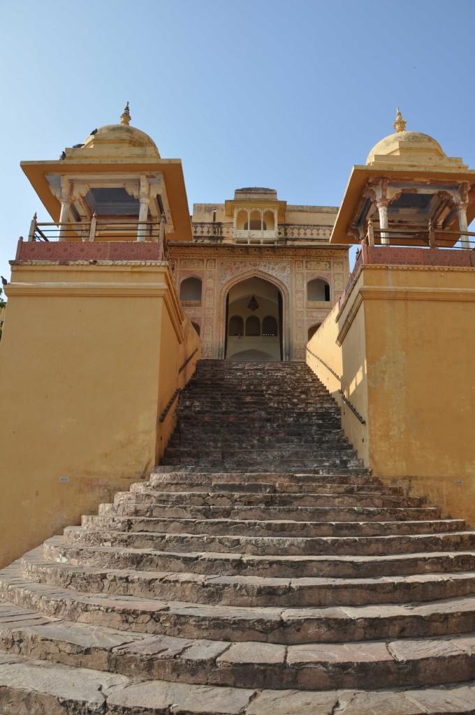 Hindu temple, Amber Fort