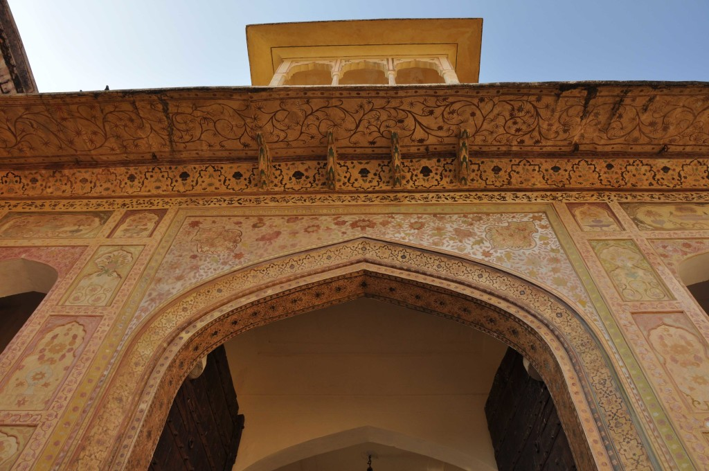 detail, Amber Fort